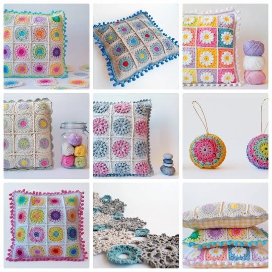 Beautiful pillows made by Dragana Savkov-Bajić