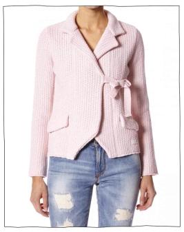 Odd Molly The knit jacket i rosa
