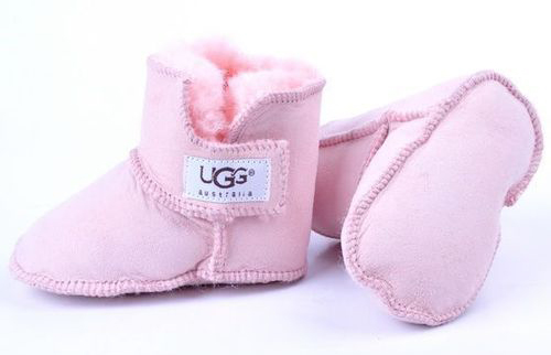 Pink baby UGGs