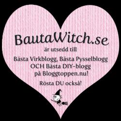 BautaWitch.se är Bästa Virkblogg, Pysselblogg OCH DIY-blogg på Bloggtoppen