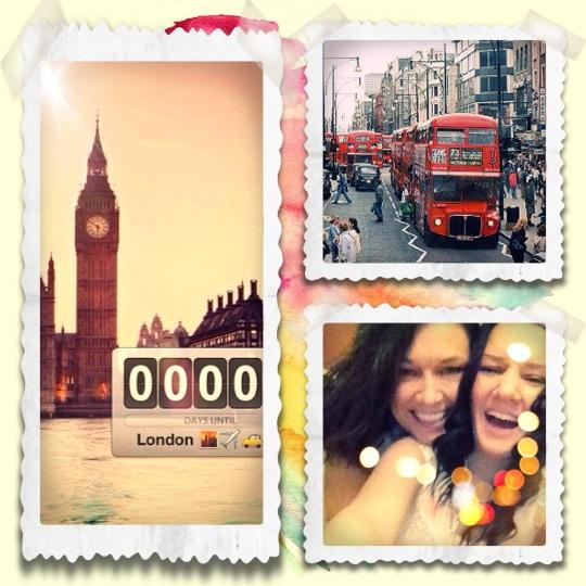 Jag o Bell i London