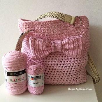 Virkad-rosa-varvaska-med-rosett-by-BautaWitch