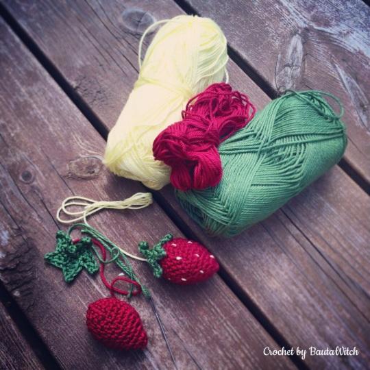 Virkade jordgubbar by BautaWitch