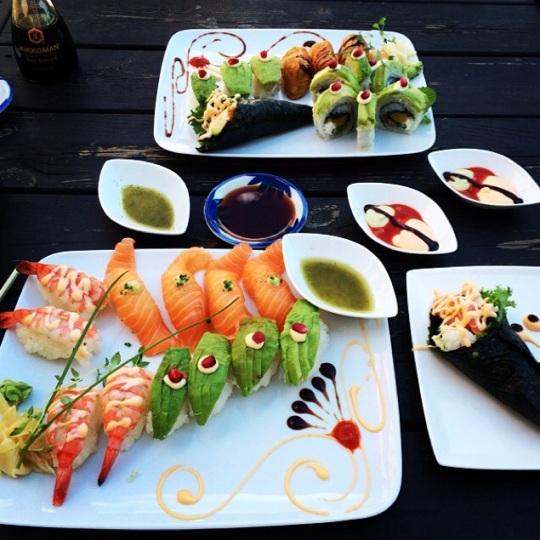 Sushi på Sushikungen