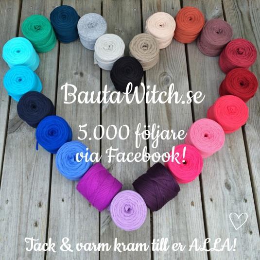 BautaWitch 5000 followers FB