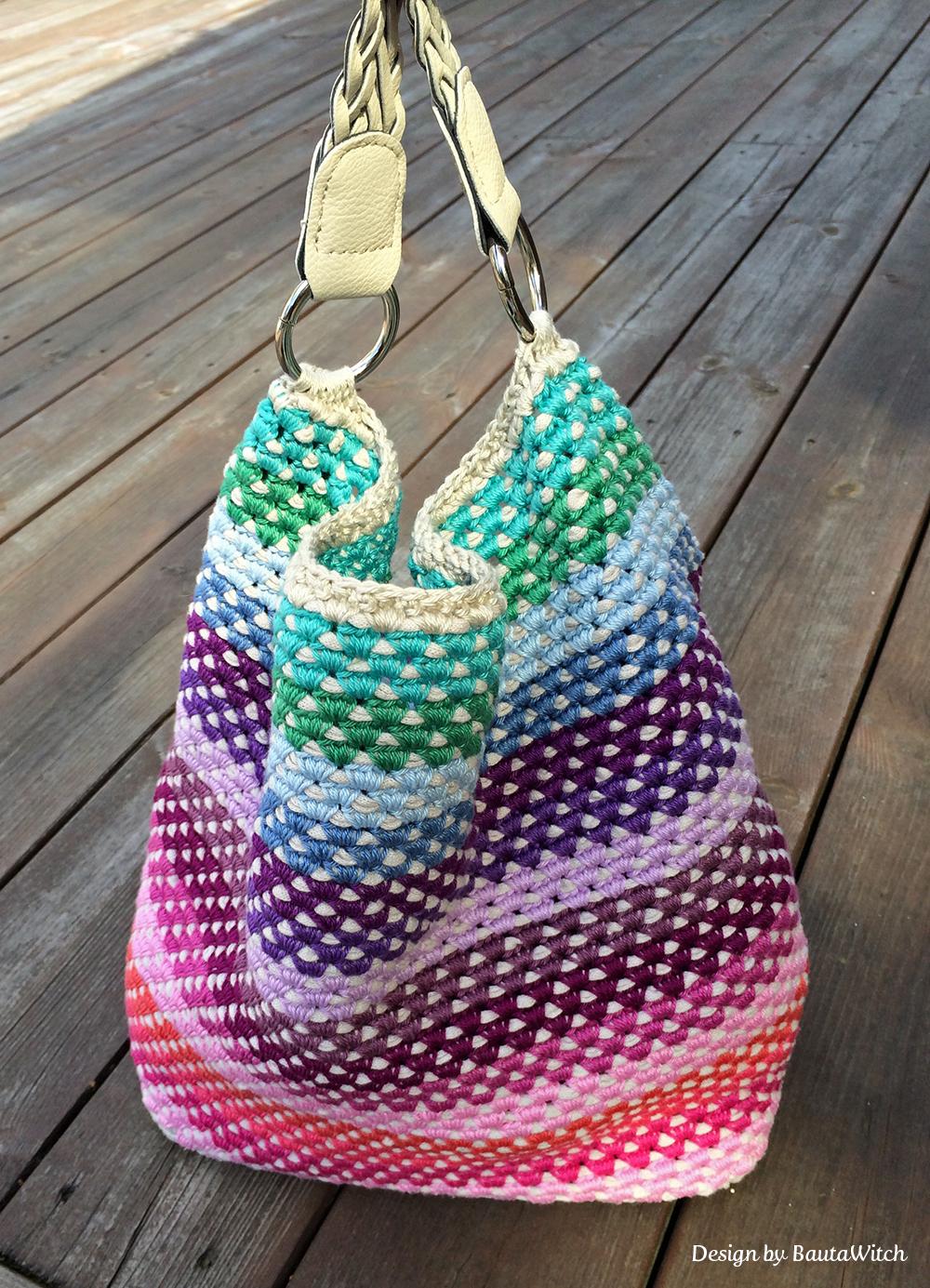 Favoloso 5 schemi gratuiti di borse ad uncinetto - Instamamme PK17
