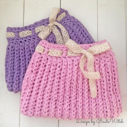 Crochet Tocador por BautaWitch plana
