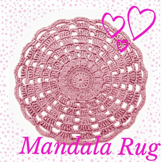 Mandala-rug-i-Ribbon-XL