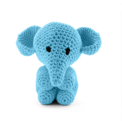Elefant Moo turkos hos BautaWitch