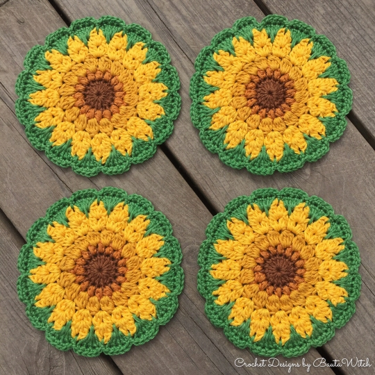 Sunflower-coasters-by-BautaWitch1