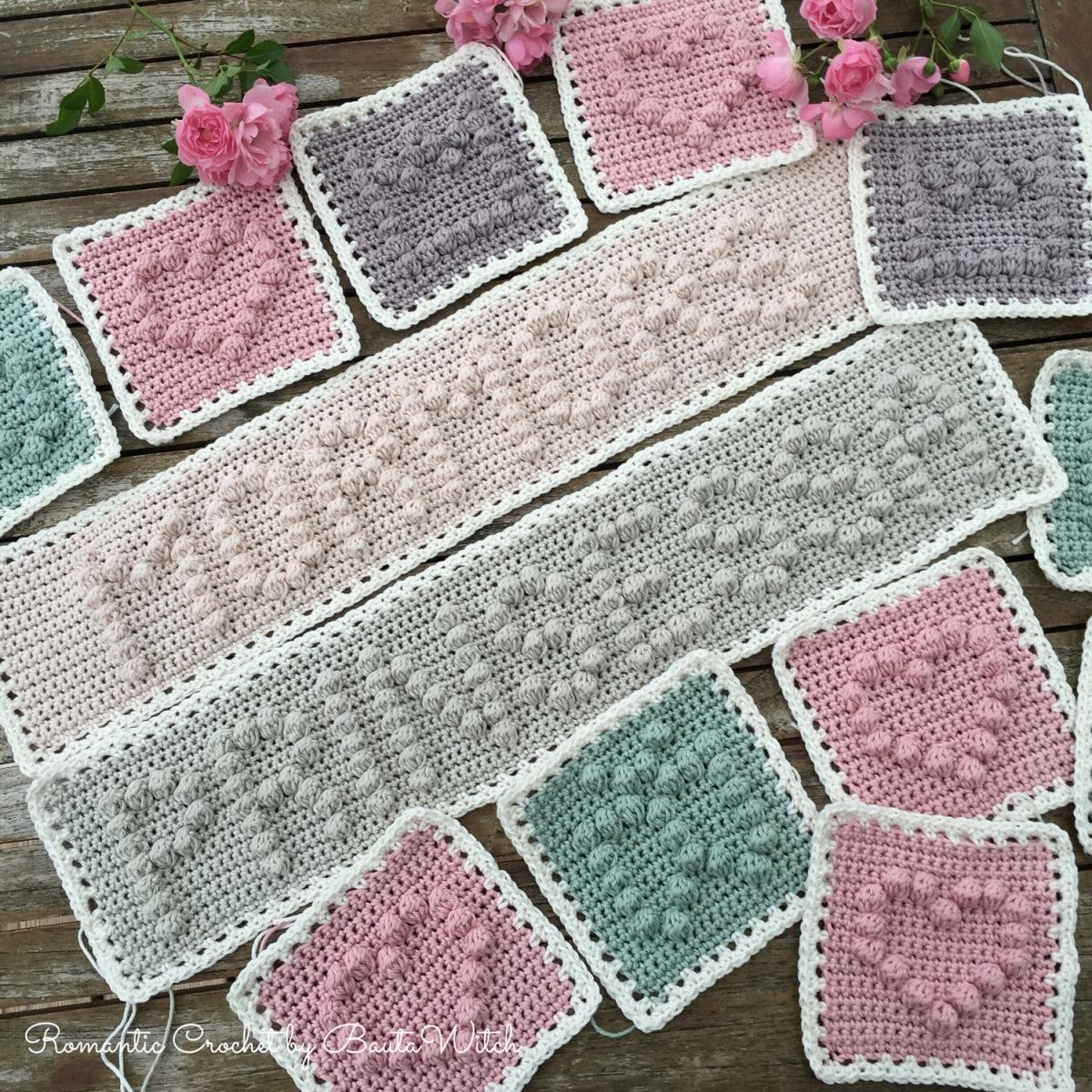 DIY - Bobble stitch bokstäver och ord