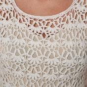 Detalj klänning
