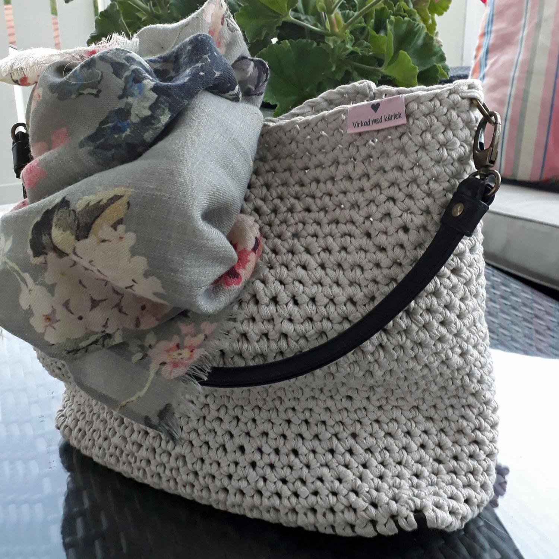 DIY – Snabb och lättvirkad väska med tuffa detaljer